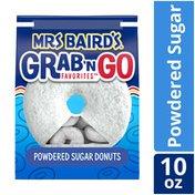 Mrs. Baird's Grab 'n Go Powdered Sugar Donuts