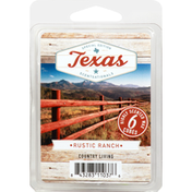 ScentSationals Wax Cubes, Highly Scented, Rustic Ranch