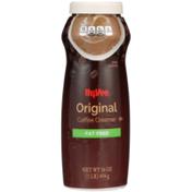 Hy-Vee Coffee Creamer, Fat Free, Original