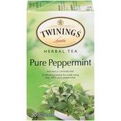 Twinings Pure Peppermint Herbal Tea Bags