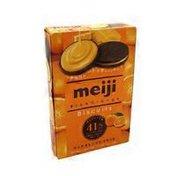 Meiji Rich Orange Biscuit