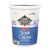 First Street Reduced Fat Sour Cream
