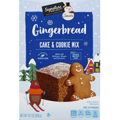 Signature Select Cake & Cookie Mix, Gingerbread, Seasons