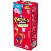 Danimals Yo-Tubes Cotton Candy Lowfat Yogurt