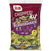 Dole Chopped Pomegranate Salad Kit