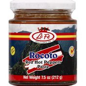 La Fe Red Hot Peppers Paste, Rocoto