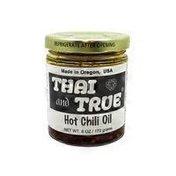 Thai And True Chili Oil, Hot