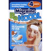 Be Kool Migraine, Soft Gel Sheets