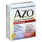 Azo Urinary Tract Health, Support Pack