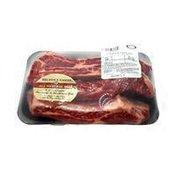 Butcher Block Meat Bone in Barbeque Beef Rib