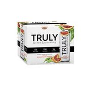 Truly Spiked & Sparkling Sparkling Water, Spiked, with a Hint of Sicilian Blood Orange