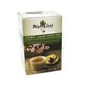 Mighty Leaf Tea, Green Tea, Cherry Lemon