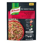 Knorr Meal Starter Steak And Peppers Brown Rice & Quinoa