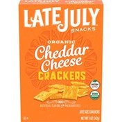 Late July Cheddar Cheese Crackers