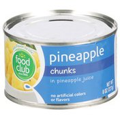 Food Club Pineapple Chunks In Pineapple Juice