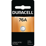 Duracell Batteries, Alkaline, 1.5 V, 76A