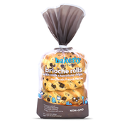 Bakerly The Brioche Rolls With Milk Chocolate Chips