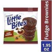 Entenmann's Little Bites Fudge Brownies Mini Muffins