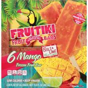 Fruitiki Fruit Bar, Frozen, Mango, with Chile & Lime