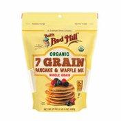 Bob's Red Mill 7 Grain Pancake & Waffle Mix, Organic