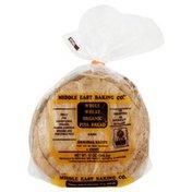 Middle East Bakery Bread, Whole Wheat Organic Pita