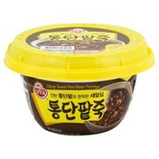 Ottogi Red Bean Porridge, Sweet, Whole