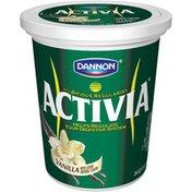 Activia Vanilla Activia Lowfat Yogurt