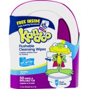 Kandoo Flushable Cleansing Wipes Sensitive - 50 CT