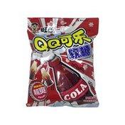 Wantwant QQ Cola Flavour Gummy Candies