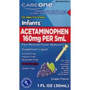 CareOne Infant Acetaminophen Grape
