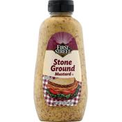 First Street Mustard, Stone Ground