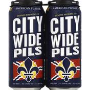 4 Hands Brewing Co. Beer, American Pilsner, City Wide Pils