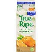 Tree Ripe Grove Select Calcium Orange Juice