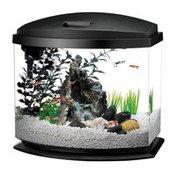 Aqueon 5 Gallon Black Mini Bow LED Desktop Fish Aquarium Kit