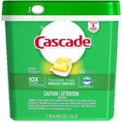 Cascade ActionPacs  Dishwasher Detergent, Lemon Scent Dish Care