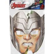 Unique Masks, 4 Assorted Styles, Marvel Avengers