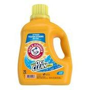 Arm & Hammer Plus Oxiclean Fresh Scent, 70 Loads Liquid Laundry Detergent,