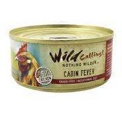 Wild Calling Cabin Fever Chicken Cat Food