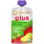 Happy Tot Plus Strawberry, Kiwi, Beet & Pear Fruit & Veggie Blend Snack