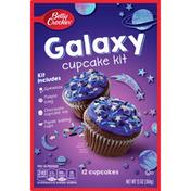Betty Crocker Galaxy Cupcake Kit, 12 Count