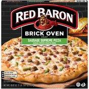 Red Baron Brick Oven Crust Sausage Supreme Brick Oven Crust Sausage Supreme Pizza