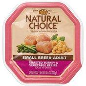 NUTRO Small Breed Adult Roasted Turkey & Vegetable Recipe Slices In Gravy Dog Food