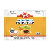 La Fe Papaya Fruit Pulp