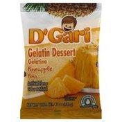 D Gari Gelatin Dessert, Pineapple
