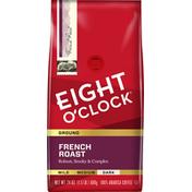 Eight O'Clock Coffee French Roast Ground Coffee