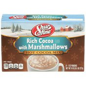 Shurfine Rich Cocoa With Marshmallows Hot Cocoa Mix