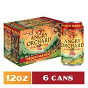 Angry Orchard Peach Mango Hard Cider, Spiked