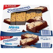 Entenmann's Minis Brownie Chcolate Chip Cakes