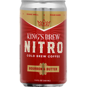 Kings Brew Coffee, Bourbon & Butter, Cold Brew