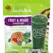 Jamba Fruit & Veggie Smoothies, Green Fusion